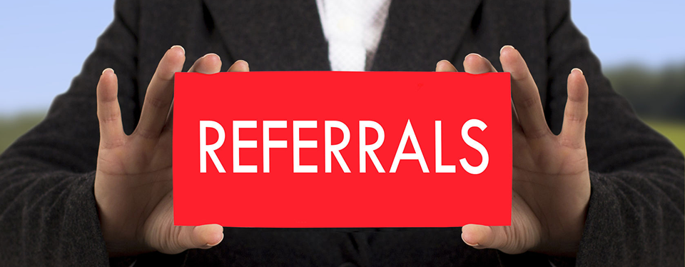 References, Referrals and Testimonials