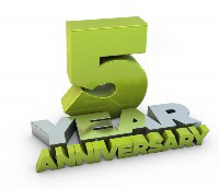 sm5YrAnniv1 Five Years!